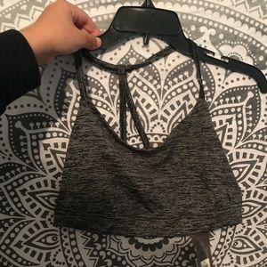 Brand new grey sports bra